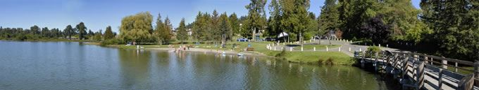 Lake Ballinger Panoramic