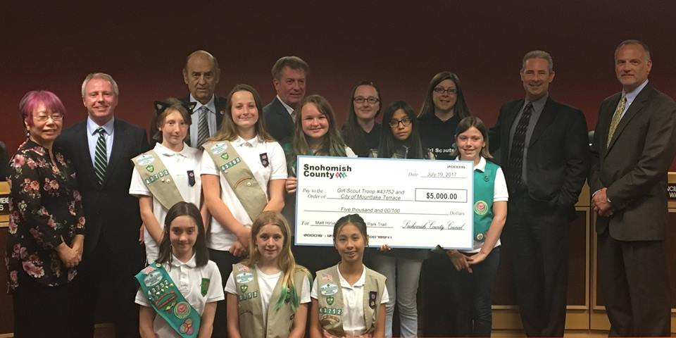 Girl Scouts and Terry Ryan
