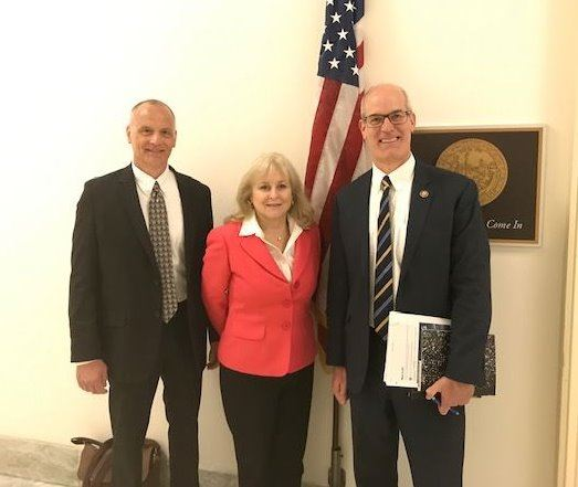 City Councilmembers with Congressman Rick Larsen in 2019