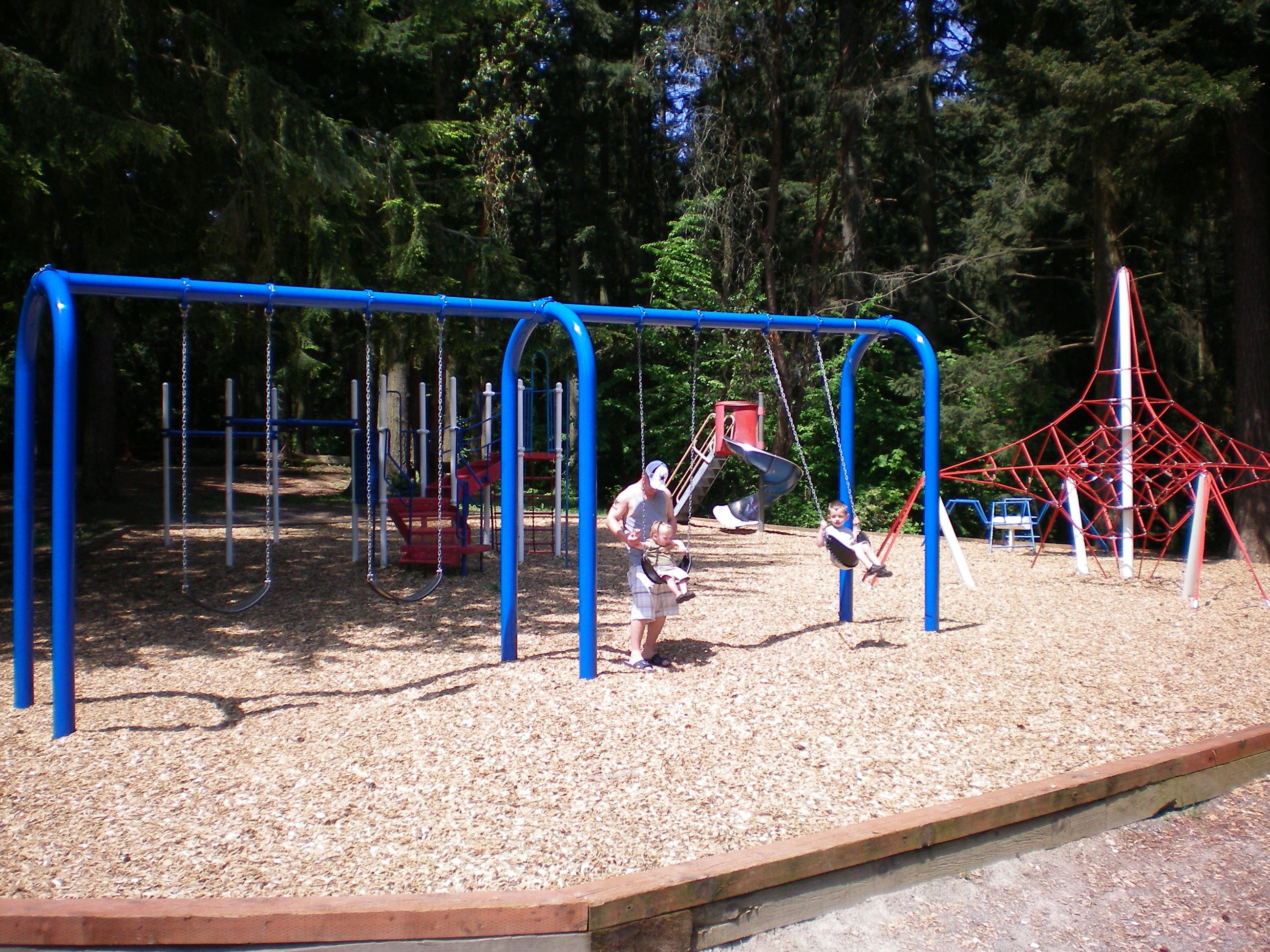 Veterans Park Swing Set