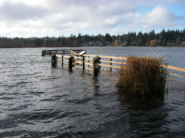 Lake Ballinger Dock December 2007