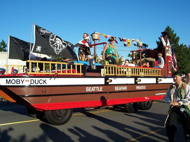 Tour de Terrace Rides Seafair Pirates Parade